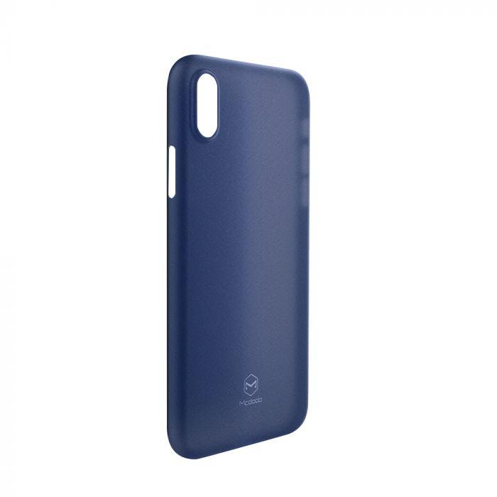 Carcasa iPhone X / XS Mcdodo Ultra Slim Air Clear Blue (0.3mm)