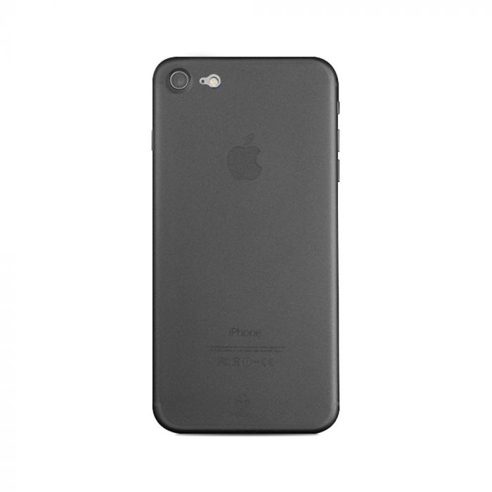 Carcasa iPhone SE 2020 / 8 / 7 Mcdodo Ultra Slim Air Clear Black (0.3mm)