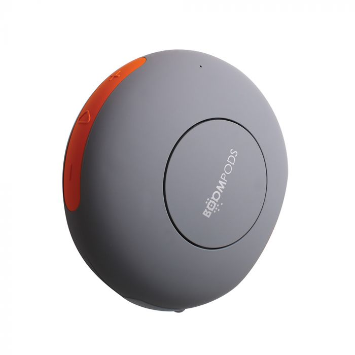 Boxa Boompods Doubleblaster 2 Orange-Grey (wireless, touch panel, powerfull bass, microphone)