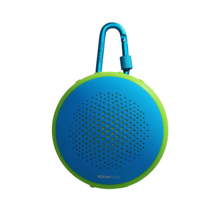 Boxa Boompods Fusion Blue-Green (waterproof, shockproof, wireless, dual pairing)
