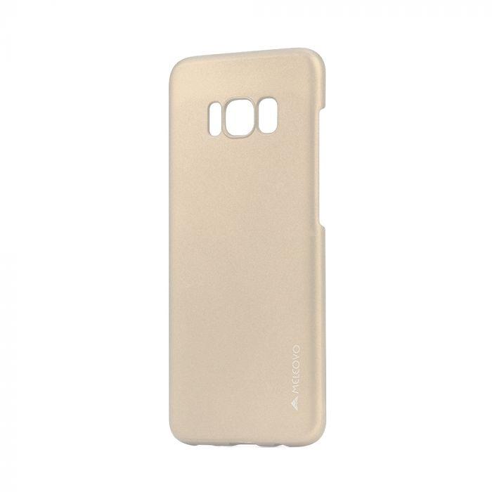 Carcasa Samsung Galaxy S8 G950 Meleovo Metallic Slim Gold (culoare metalizata fina)