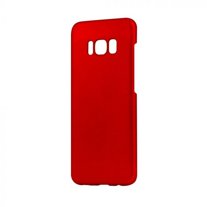 Carcasa Samsung Galaxy S8 G950 Meleovo Metallic Slim Red (culoare metalizata fina)