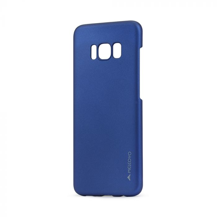 Carcasa Samsung Galaxy S8 G950 Meleovo Metallic Slim Blue (culoare metalizata fina)