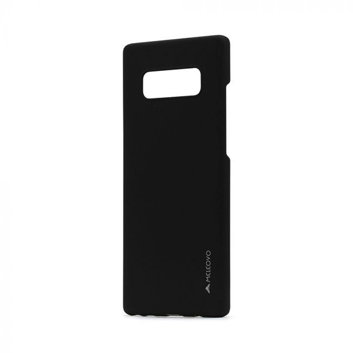 Carcasa Samsung Galaxy Note 8 Meleovo Metallic Slim Black (culoare mata fina)