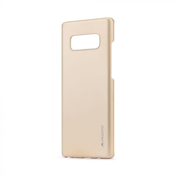 Carcasa Samsung Galaxy Note 8 Meleovo Metallic Slim Gold (culoare metalizata fina)