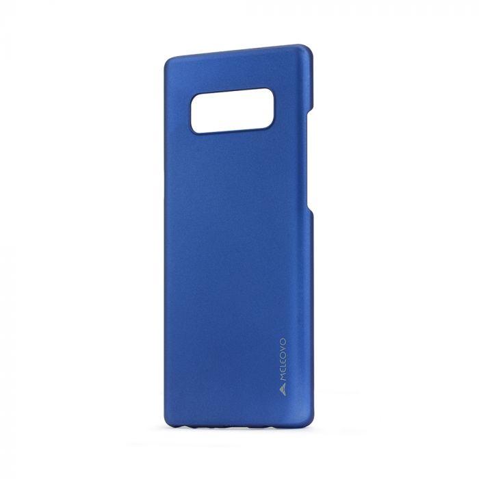 Carcasa Samsung Galaxy Note 8 Meleovo Metallic Slim Blue (culoare metalizata fina)