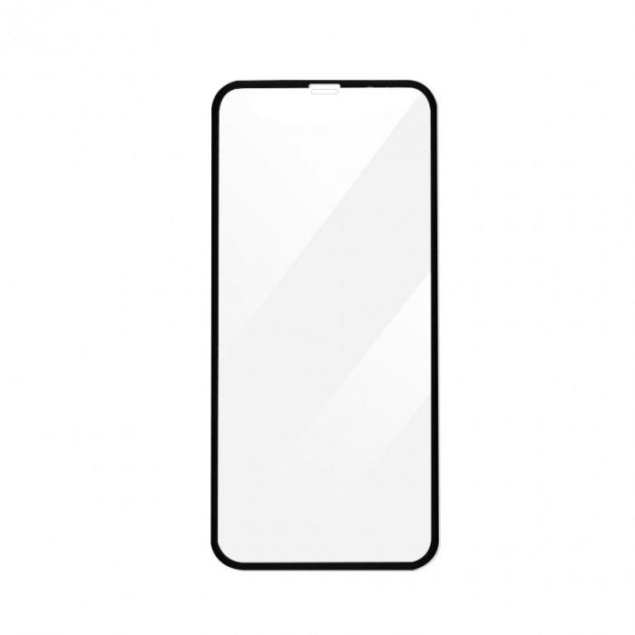 Folie iPhone X / XS Devia Sticla Temperata 3D Black (0.26mm, 9H, curbata, folie spate inclusa)