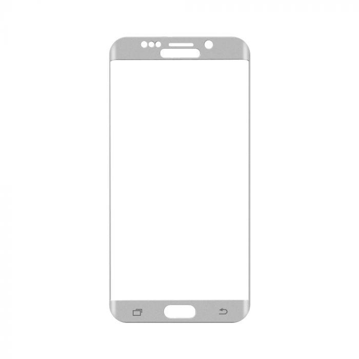 Folie Samsung Galaxy S6 Edge+ G928 Magic Sticla 3D Full Cover Silver (0.33mm, 9H)