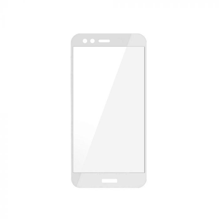 Folie Huawei P10 Lite Magic Sticla 3D Full Cover White (0.33mm, 9H)