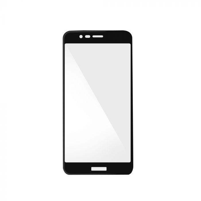 Folie Huawei Honor V9 Magic Sticla 3D Full Cover Black (0.33mm, 9H)