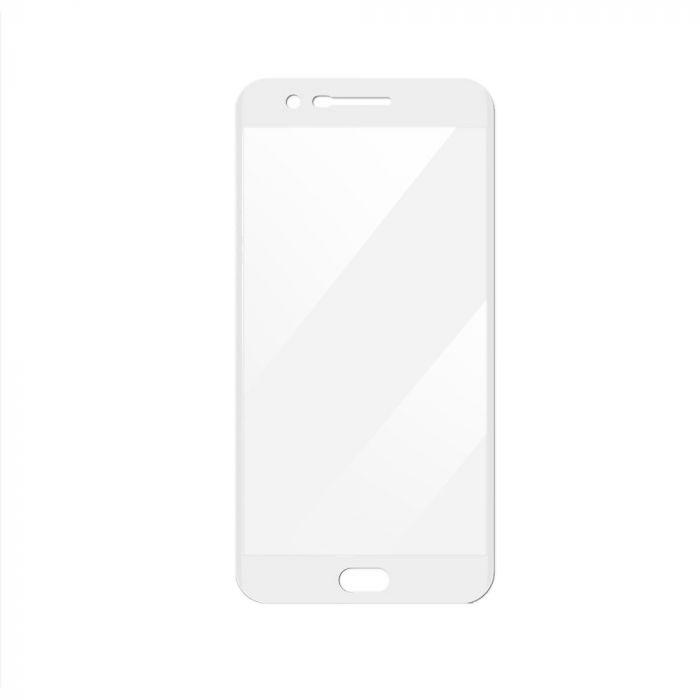 Folie LG K10 (2017) / LG LV5 Magic Sticla 3D Full Cover White (0.33mm, 9H)