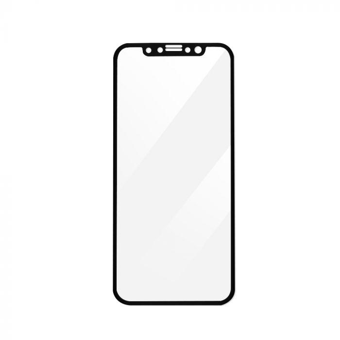 Folie iPhone X Magic Sticla 3D Full Cover Black (0.33mm, 9H)