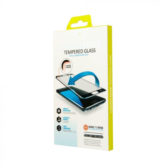 Folie iPhone X Lemontti Sticla 3D Privacy Black (0.33mm, 9H)