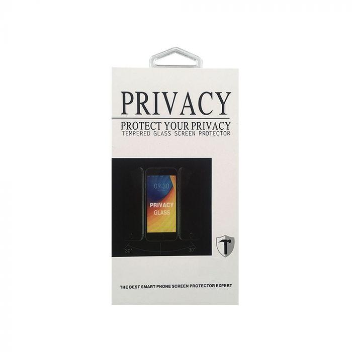 Folie iPhone 8 Plus / 7 Plus Magic Sticla Privacy Clear (0.33mm, 2.5D, 9H)