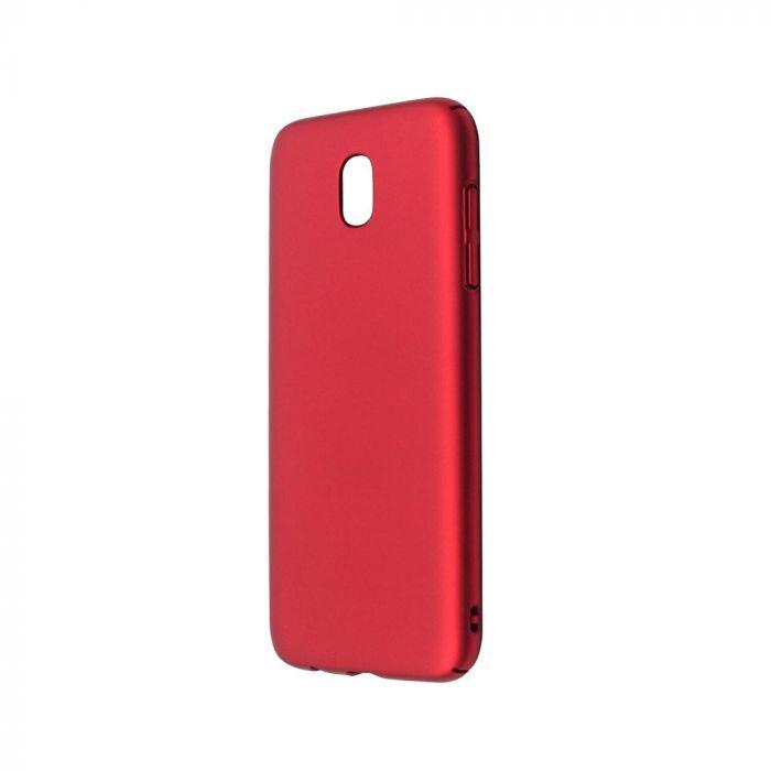 Carcasa Samsung Galaxy J3 (2017) Just Must Uvo Red (material fin la atingere, slim fit)