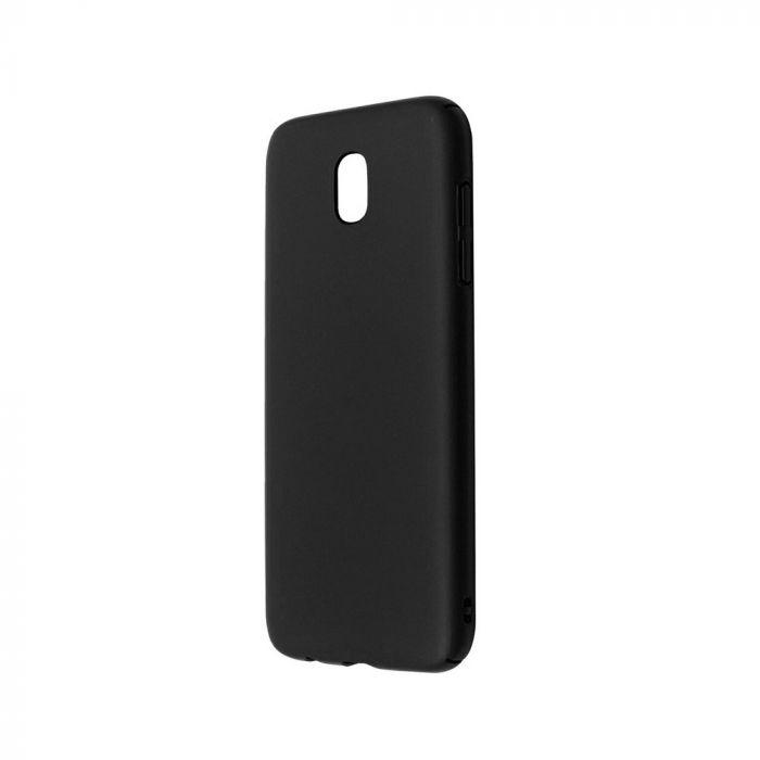 Carcasa Samsung Galaxy J7 (2017) Just Must Uvo Black (material fin la atingere, slim fit)