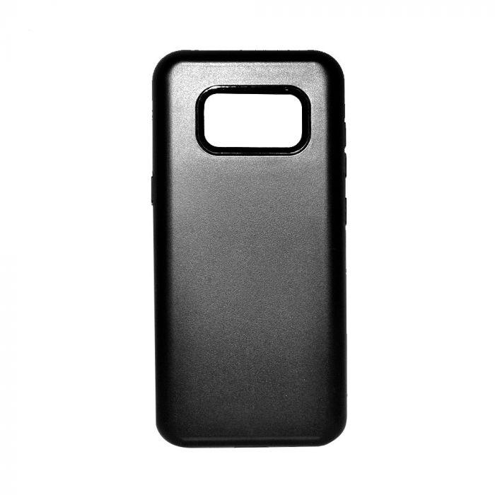Carcasa Samsung Galaxy S8 G950 Devia Tough Armor Black (interior cauciucat, exterior dur)