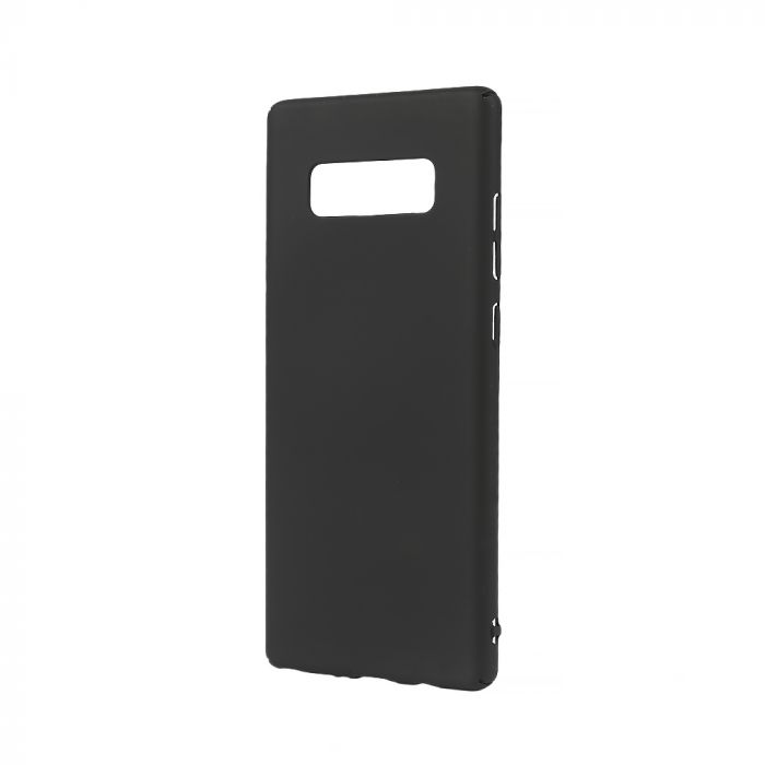 Carcasa Samsung Galaxy Note 8 Lemontti Hard Rubber Slim Negru