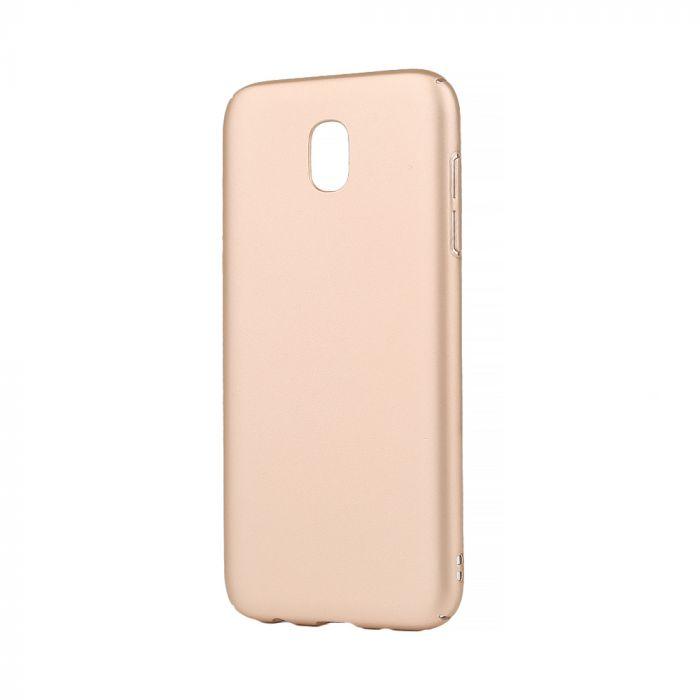 Carcasa Samsung Galaxy J5 (2017) Lemontti Hard Rubber Slim Auriu