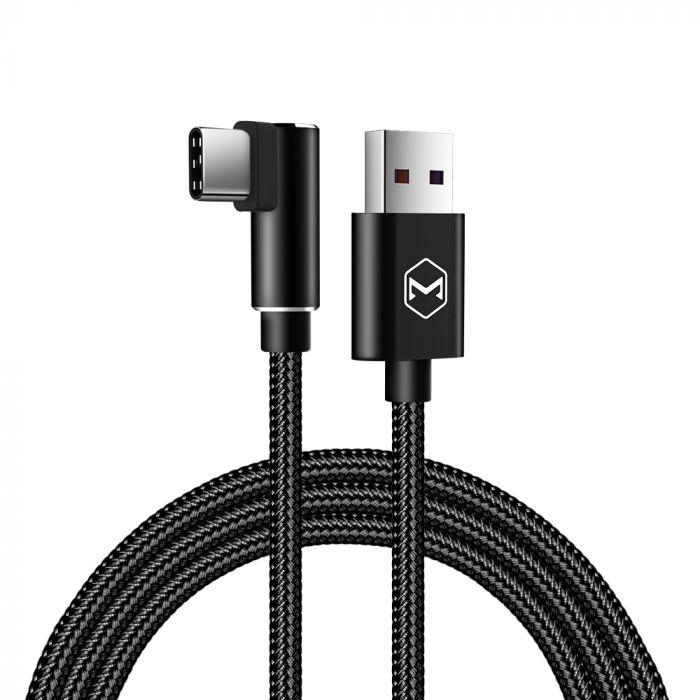 Cablu Type-C Mcdodo Glory Series Black (5A, unghi 90, 1m)
