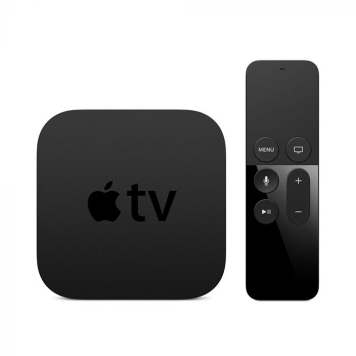 Apple Receptor media digital Apple TV 4K Negru (32 GB, Wi-Fi, Ethernet, HDMI)