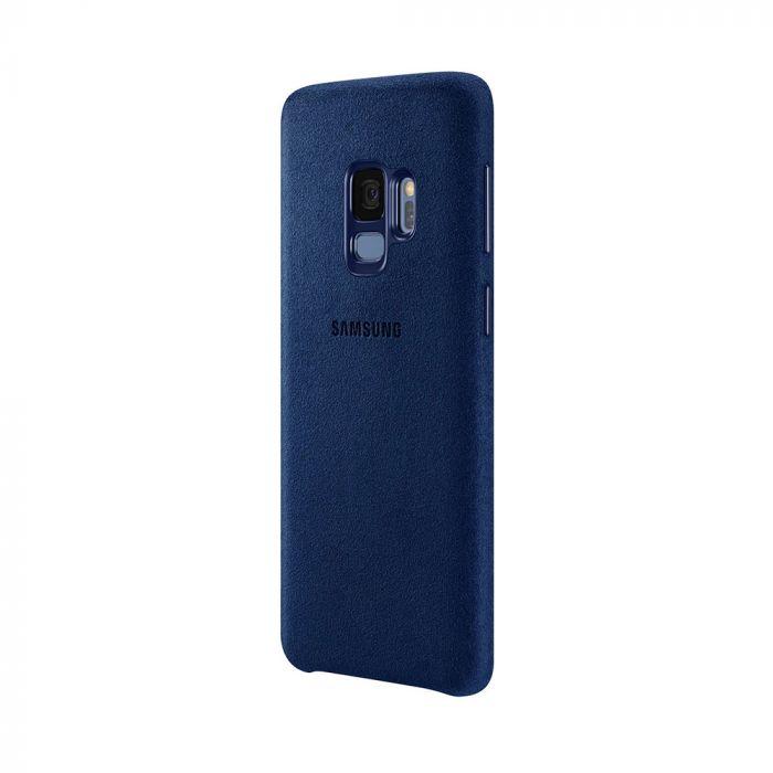 Carcasa Samsung Galaxy S9 G960 Samsung Alcantara Cover Blue