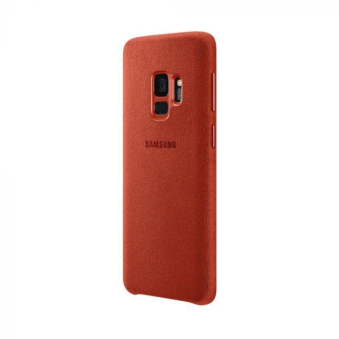 Carcasa Samsung Galaxy S9 G960 Samsung Alcantara Cover Red
