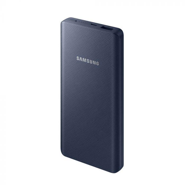 Acumulator extern Samsung Power Bank Navy 10.000 mAh (cablu MicroUSB + adaptor Type-C inclus)