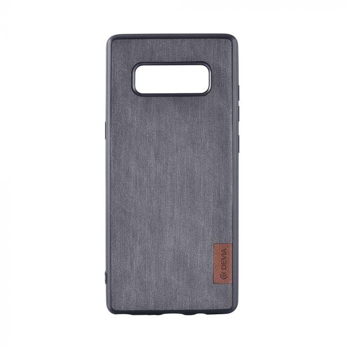 Carcasa Samsung Galaxy Note 8 Devia Flax Case Grey