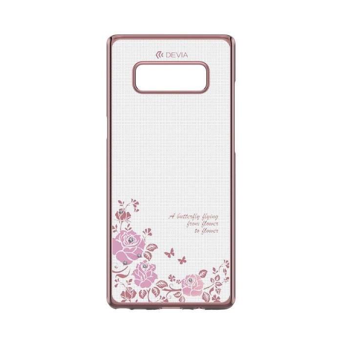 Carcasa Samsung Galaxy Note 8 Devia Joyous Rose Gold