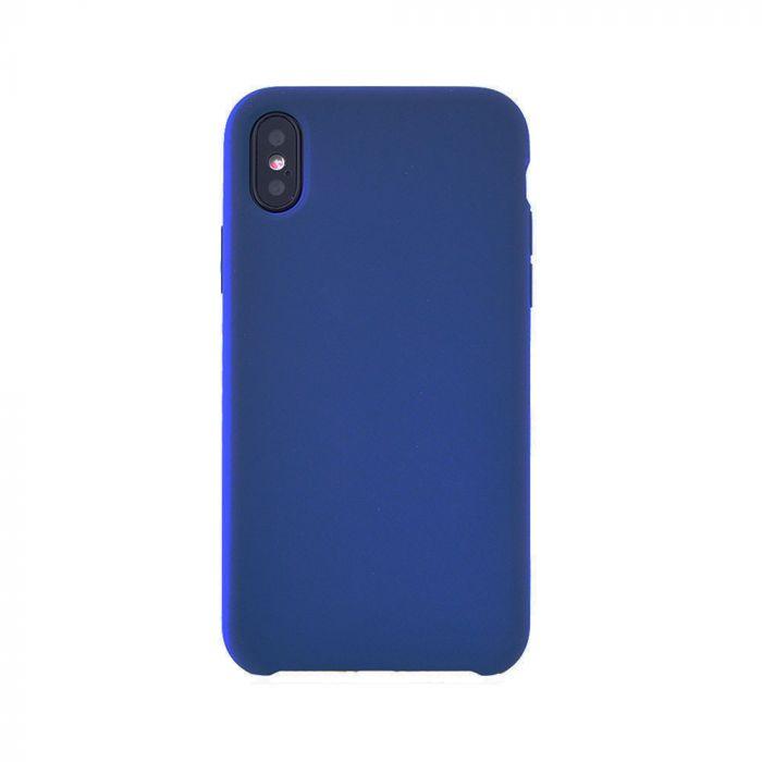 Carcasa iPhone X / XS Meleovo Silicone Gear Navy