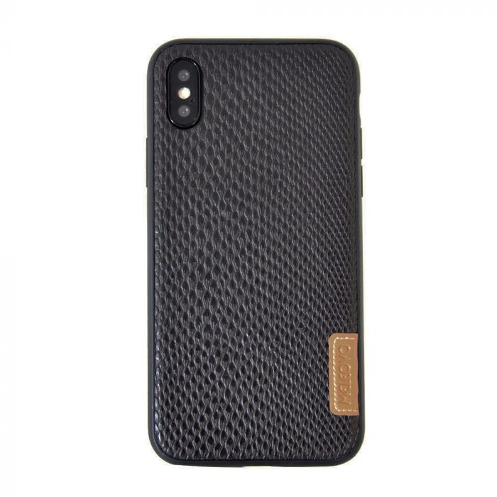 Carcasa iPhone X Meleovo Snaky Black