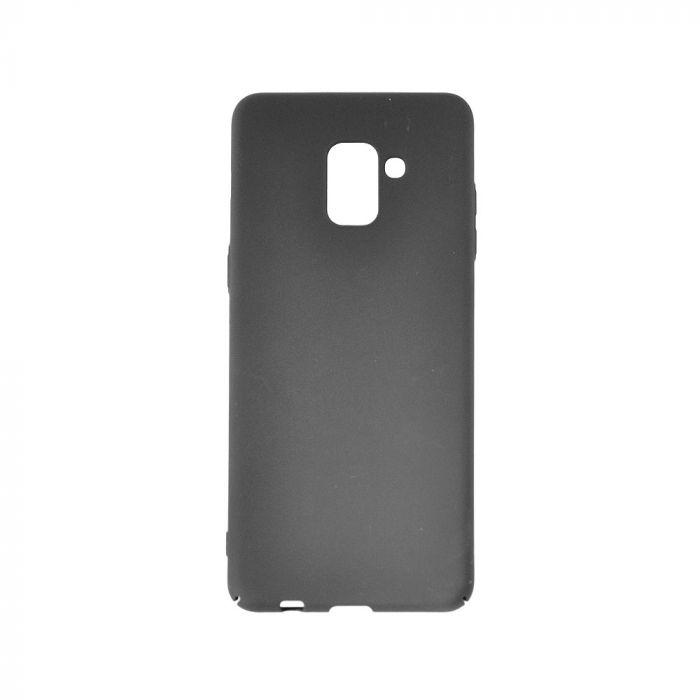 Carcasa Samsung Galaxy A8 (2018) Meleovo Metallic Slim 360 Black