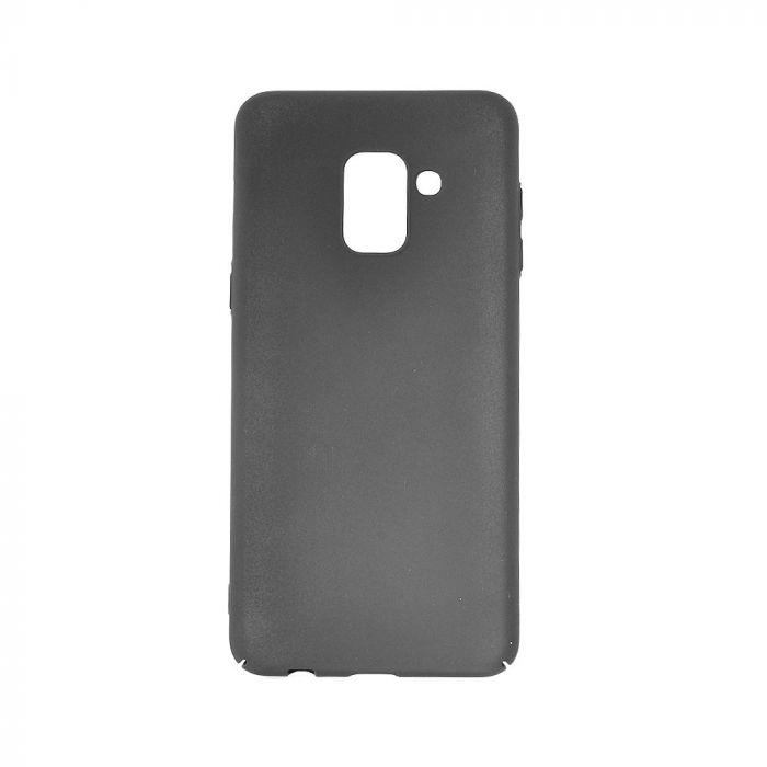 Carcasa Samsung Galaxy A8 Plus (2018) Meleovo Metallic Slim 360 Black