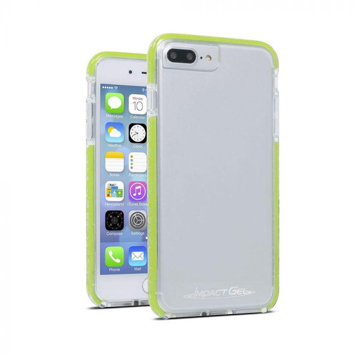 Carcasa iPhone 8 Plus / 7 Plus / 6 Plus Impact Gel Crusader Lite Clear-Green (Xtreme Armour)