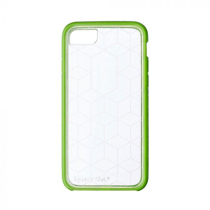 Carcasa iPhone 8 / 7 / 6 Impact Gel Crusader Series Clear-Green (Xtreme Armour)