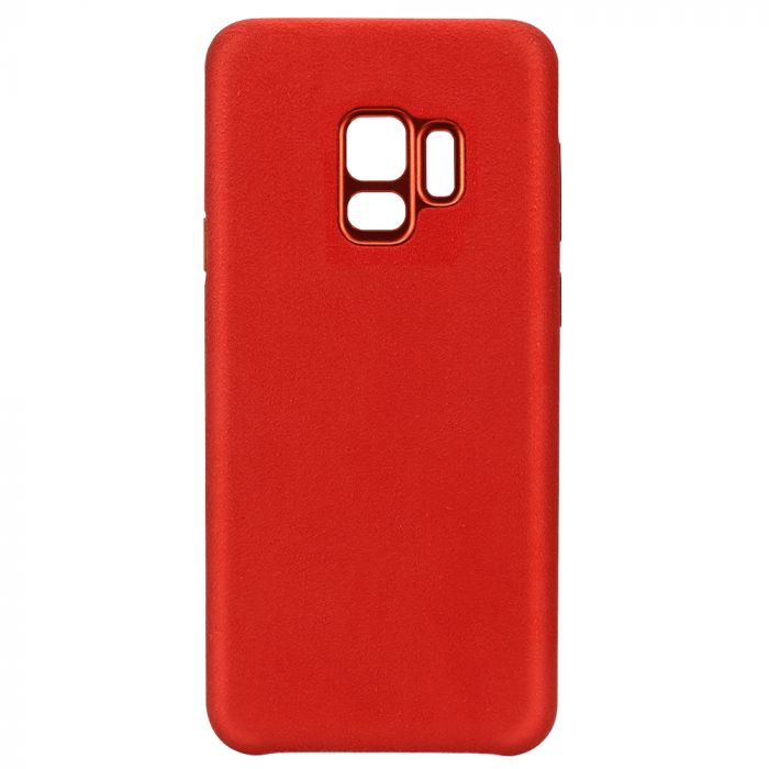 Carcasa Samsung Galaxy S9 G960 Just Must Origin Fiber Red
