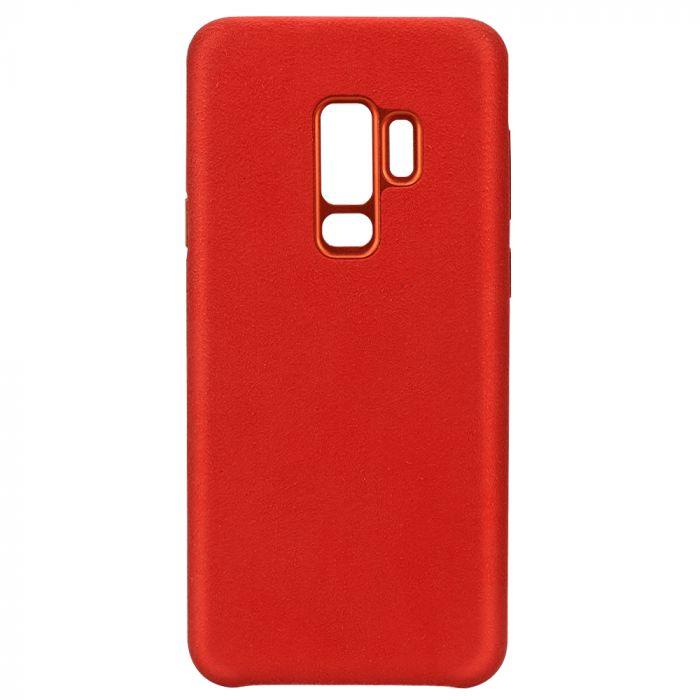 Carcasa Samsung Galaxy S9 Plus G965 Just Must Origin Fiber Red