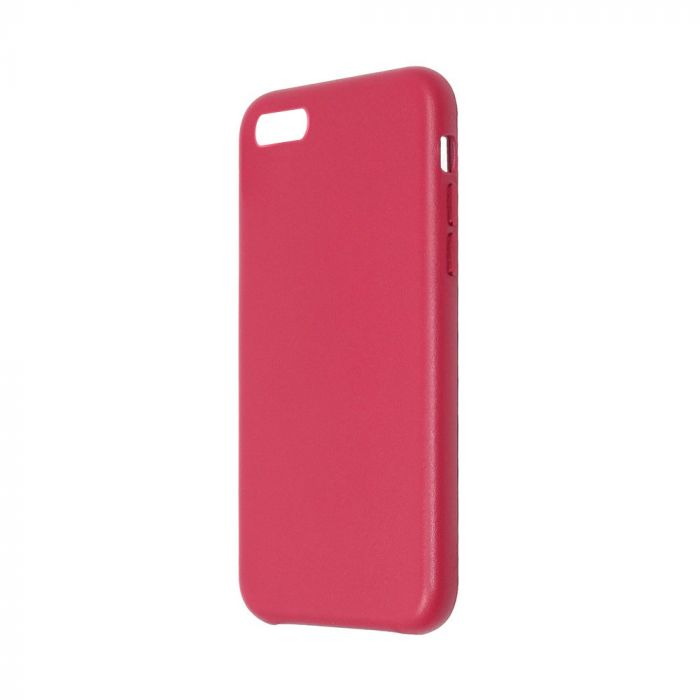 Carcasa iPhone 8 / 7 Just Must Origin Leather Red (piele naturala)