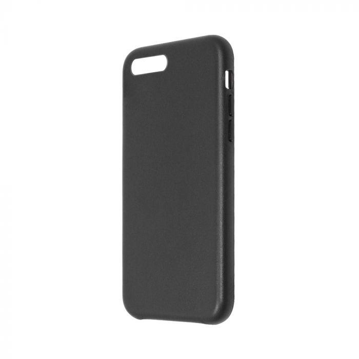 Carcasa iPhone 8 Plus / 7 Plus Just Must Origin Leather Black (piele naturala)