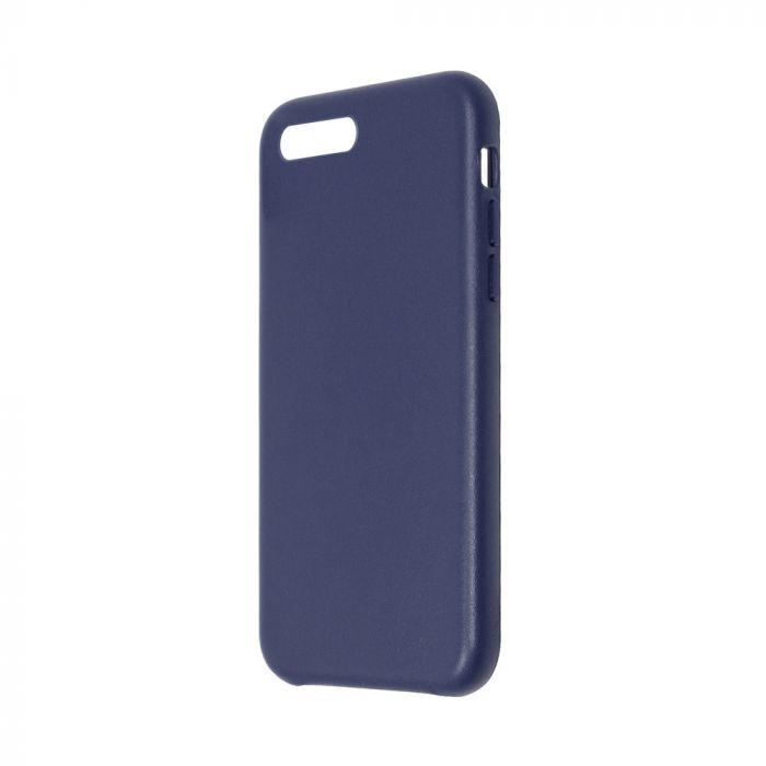 Carcasa iPhone 8 Plus / 7 Plus Just Must Origin Leather Midnight Blue (piele naturala)