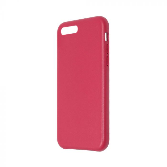 Carcasa iPhone 8 Plus / 7 Plus Just Must Origin Leather Red (piele naturala)