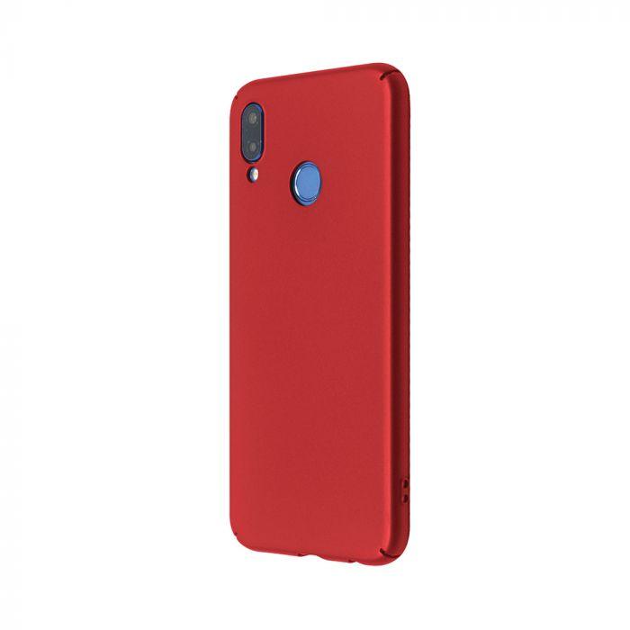 Carcasa Huawei P20 Lite Just Must Uvo Red (material fin la atingere, slim fit)