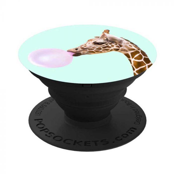 Suport Universal Popsockets Stand Adeziv Bubblegum Giraffe