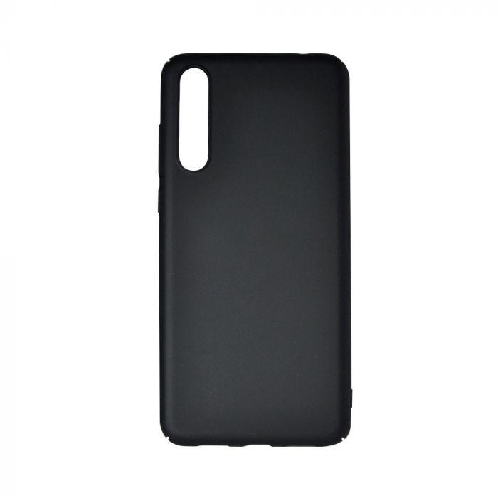 Carcasa Huawei P20 Pro Just Must Uvo Black (material fin la atingere, slim fit)