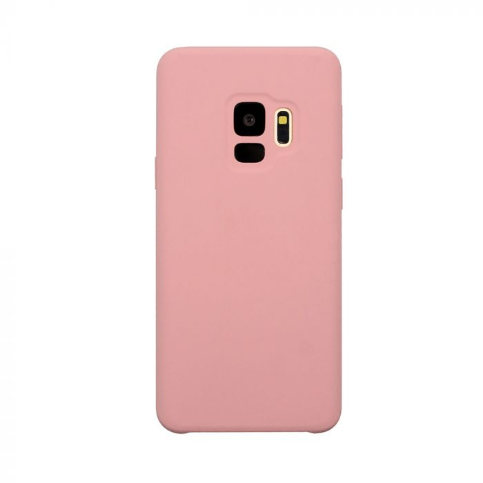 Carcasa Samsung Galaxy S9 G960 Just Must Liquid Silicone Pink