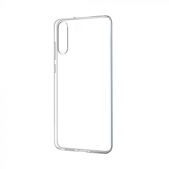 Carcasa Huawei P20 Just Must Pure II Clear (spate transparent, margini flexibile)