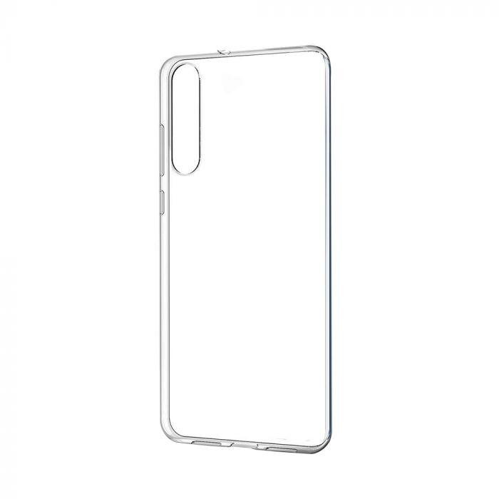 Carcasa Huawei P20 Pro Just Must Pure II Clear (spate transparent, margini flexibile)