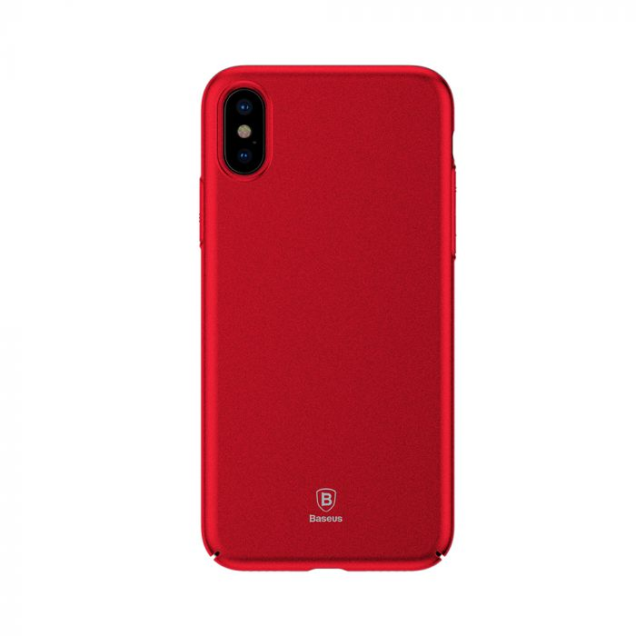 Carcasa iPhone X Baseus Meteorite Red