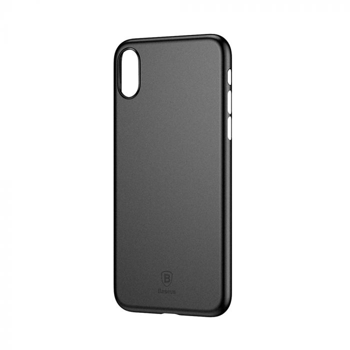 Carcasa iPhone X Baseus Wing Black